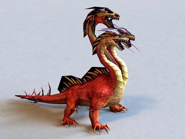 Russian Three-headed Dragon 3d model