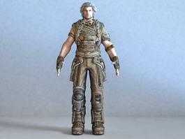 Bulletstorm Grayson Hunt 3d model