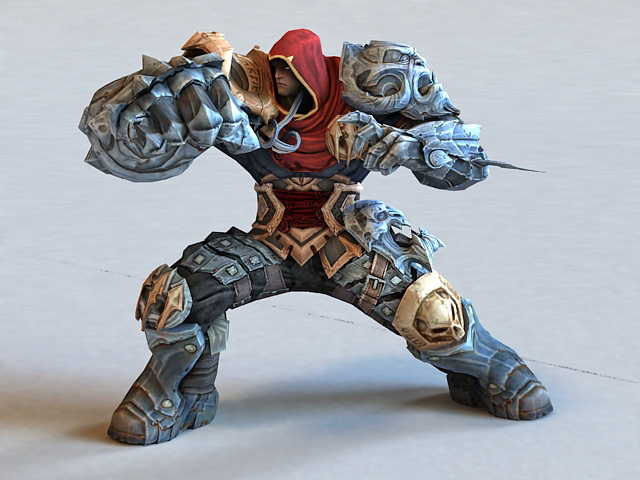 Iron Warrior 3d model