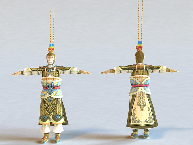 Chinese Monkey King 3d model