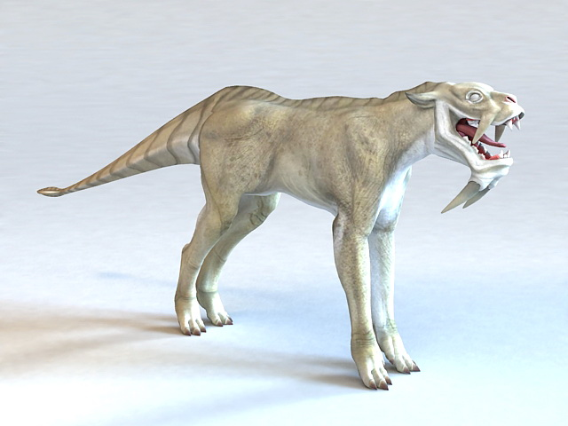 Alien Beast 3d model