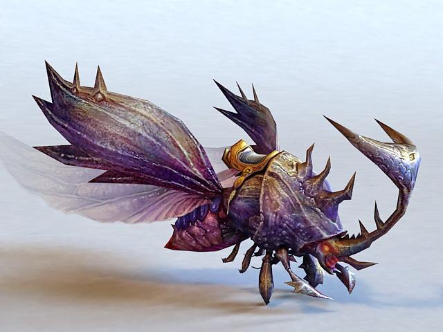 Giant Beetle Monster 3d model