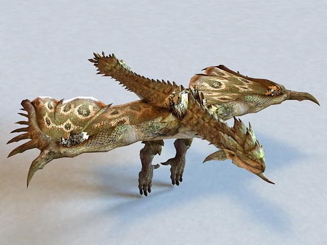 Death Dragon 3d model