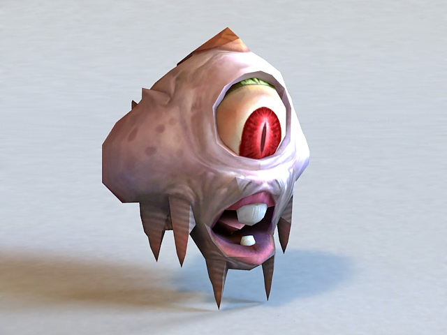 Eye of the Beholder 3d model
