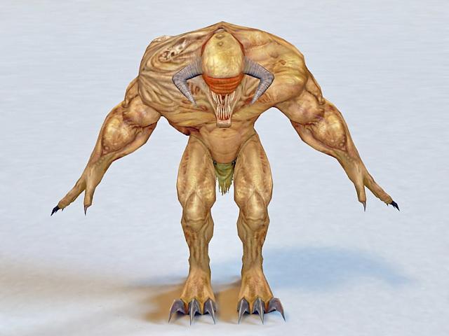 Bull Demon Monster 3d model