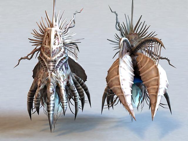 Insect Alien Creature 3d model