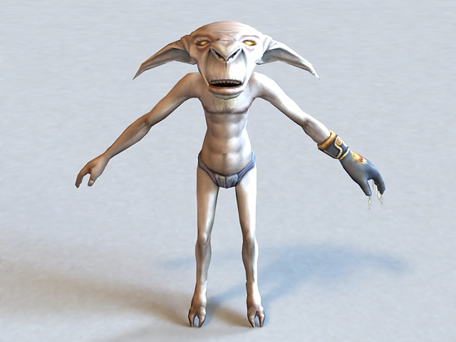 Humanoid Alien 3d model