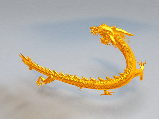 Chinese Dragon Animation 3d Model 3ds Max Files Free
