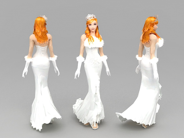 3d model of blonde - photo #20