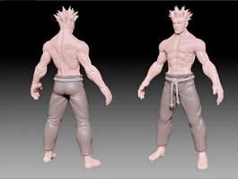 Muscle Man 3d model