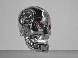 Terminator T 800 Head Skull 3d model