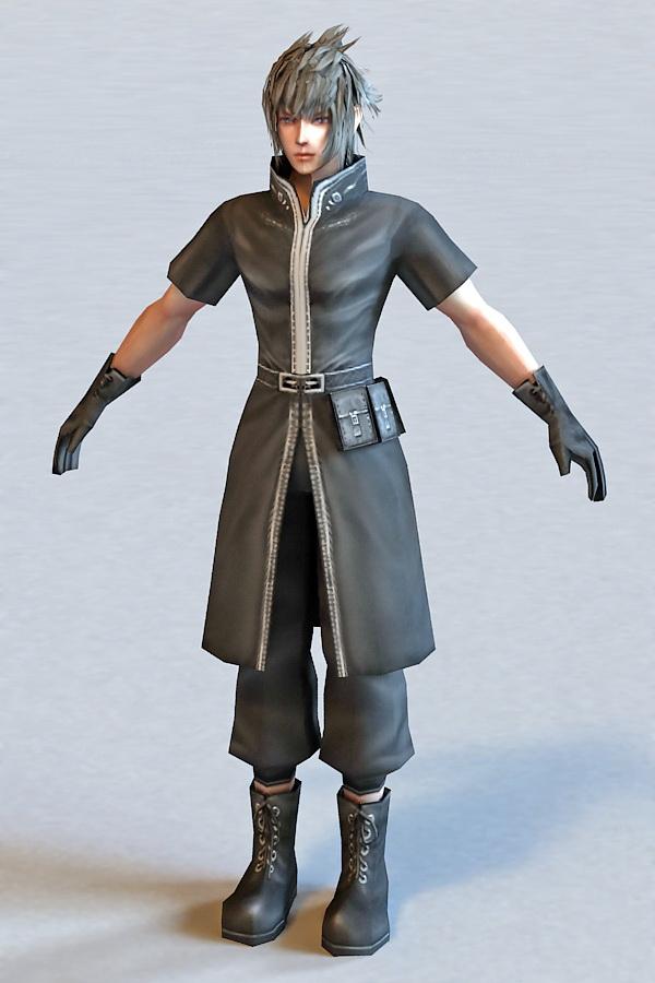 Final Fantasy X Yuna 3d model 3ds Max,Object files free