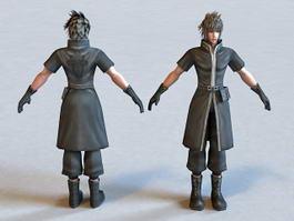 FF Male Character 3d model