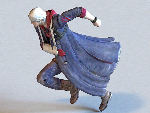 Devil May Cry Character 3d model