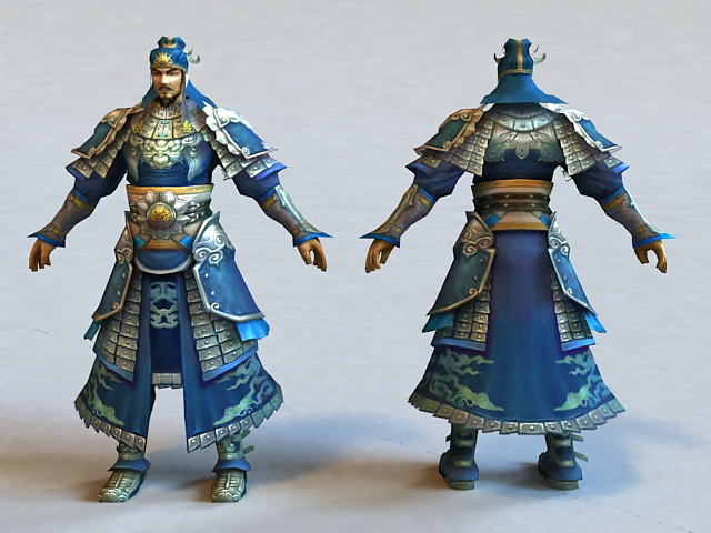 Ancient Kingdom Warrior 3d model