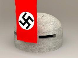 WW2 Bunker 3d model