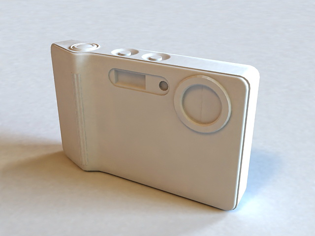 Samsung L83T Digital Camera 3d model