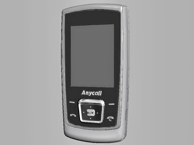 Samsung Anycall Cell Phone 3d model