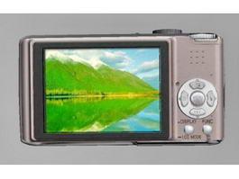 Panasonic FX30 Camera 3d model