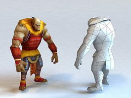 Ancient Barbarian 3d model