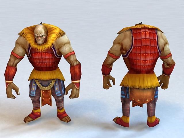 Ancient Barbarian 3d model
