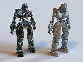 Killer Robot 3d model