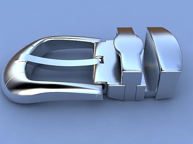 Belt Buckle 3d Model 3ds Max Files Free Download