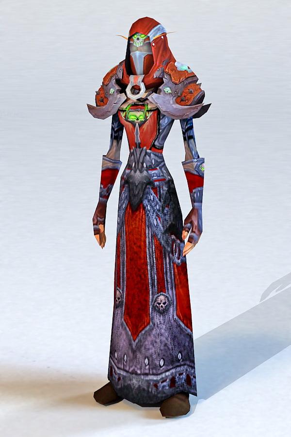 Blood Elf Warlock 3d Model 3ds Max Files Free Download
