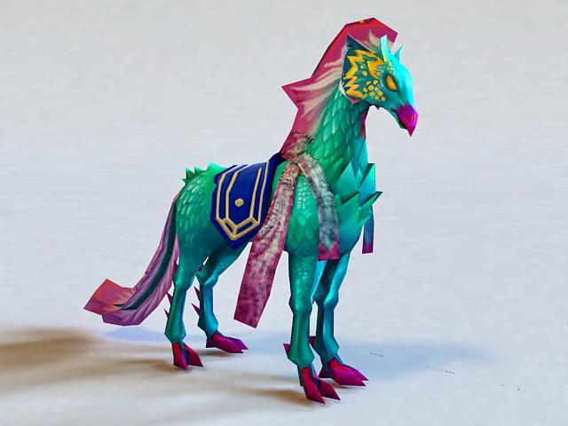 Mythical Horse Animal 3d model