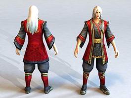 Fantasy Man Guy 3d model