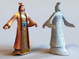 Ancient Chinese Lord 3d model
