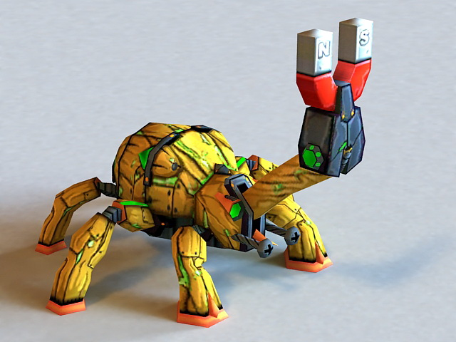 Charged Magno Beetle 3d model