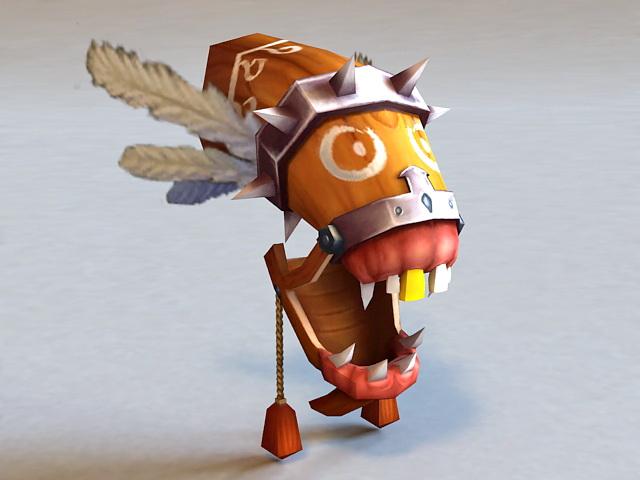Monster Mask 3d model