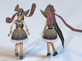Devil Doll 3d model