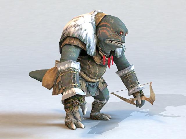 Monster Archer 3d model