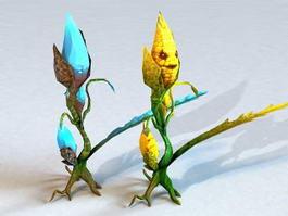 Corn Monster 3d model