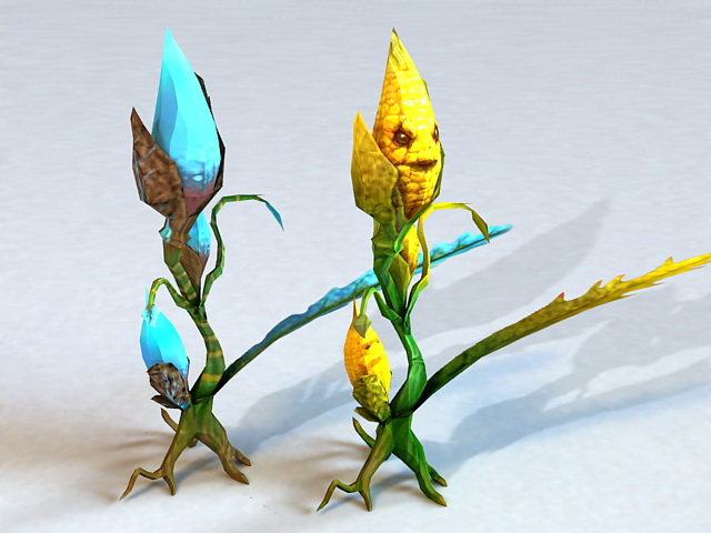 Corn Monster 3d model