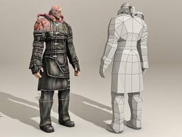 Resident Evil Zombie 3d model