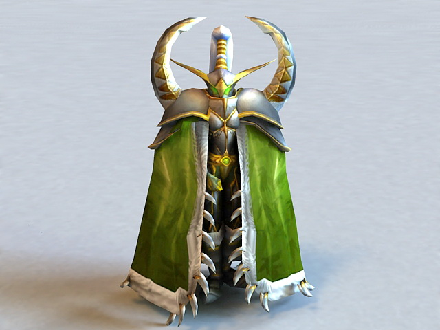 Warcraft Maiev Shadowsong 3d model