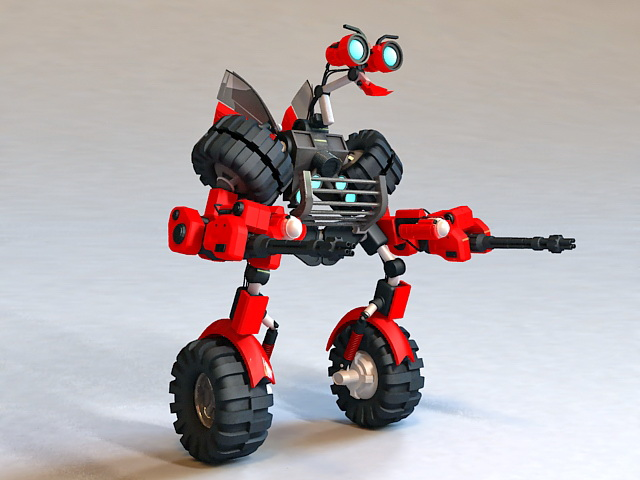 Transformers Mini-Bot 3d model