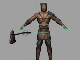 Devil Warrior 3d model