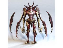 Female Demon 3d model