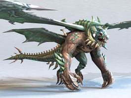 Dragon Monster 3d model