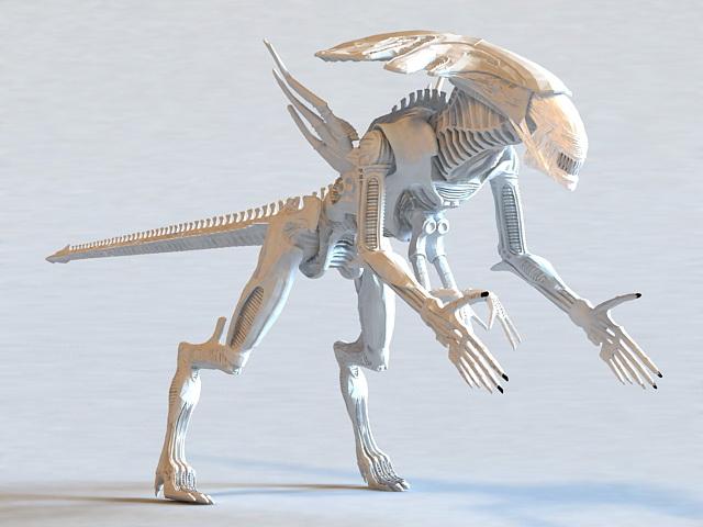 Alien Xenomorph King 3d model