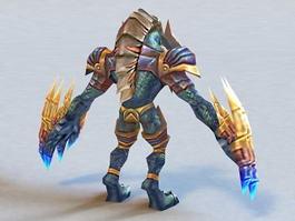 Monster Warrior 3d model