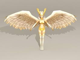 Female Angel 3d model