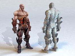 Zombie Creature 3d model
