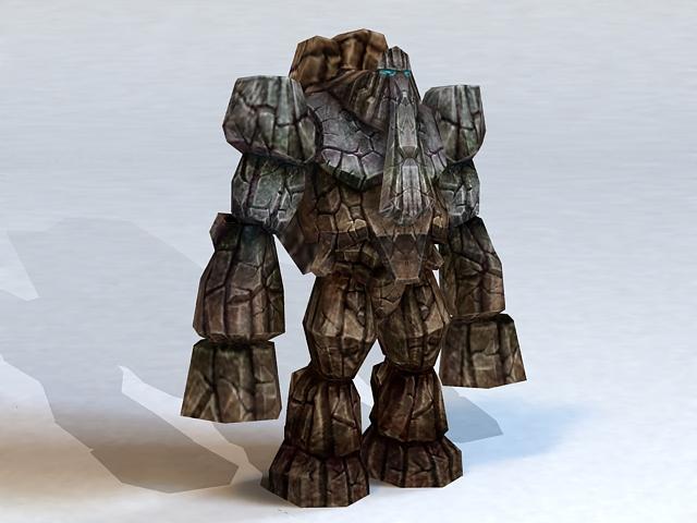 Rock Monster 3d model