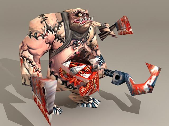 Warcraft Abomination 3d model
