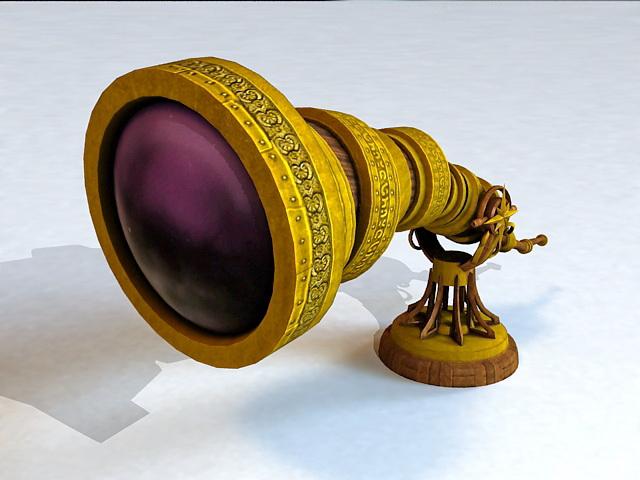 Fantasy Telescope 3d model